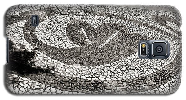 Galaxy S5 Case featuring the photograph Pavement Detail Portugal by Menega Sabidussi