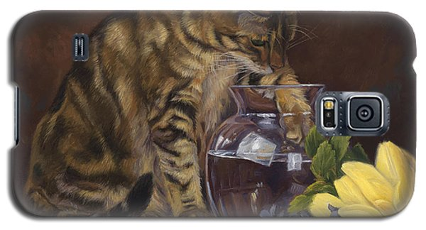 Paw In The Vase Galaxy S5 Case