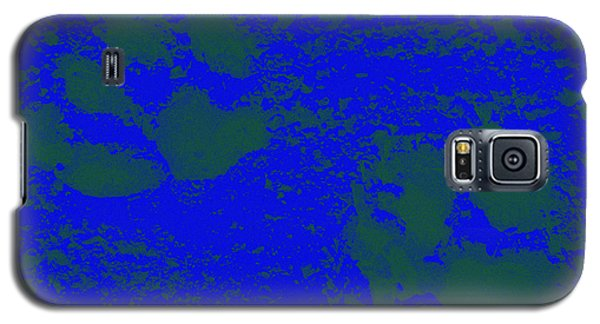 Paw Prints In Deep Blue Galaxy S5 Case