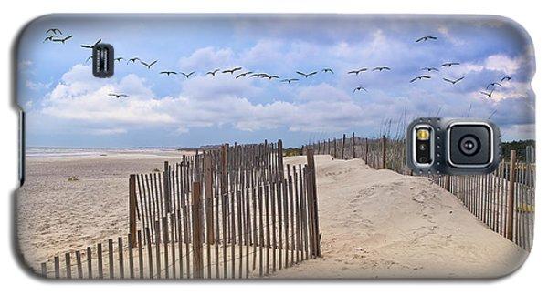 Pawleys Island Beach Scene Galaxy S5 Case