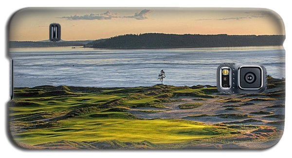 Galaxy S5 Case featuring the photograph Pax - Chambers Bay Golf Course by Chris Anderson