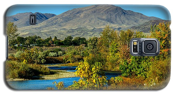 Payette River And Squaw Butte Galaxy S5 Case