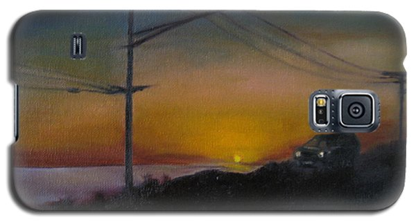 Pch At Night Galaxy S5 Case by Lindsay Frost