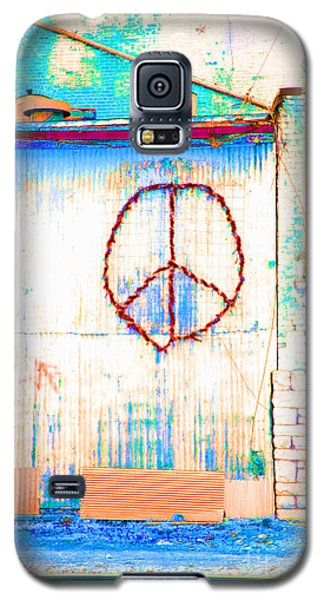 Galaxy S5 Case featuring the photograph Peace 1 by Minnie Lippiatt