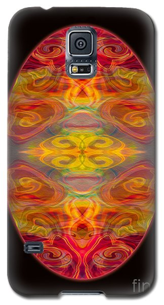 Peace And Harmony Abstract Healing Art Galaxy S5 Case