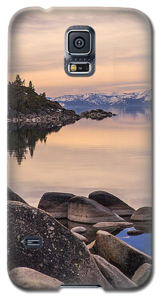 Galaxy S5 Case featuring the photograph Peace And Serenity by Nancy Marie Ricketts