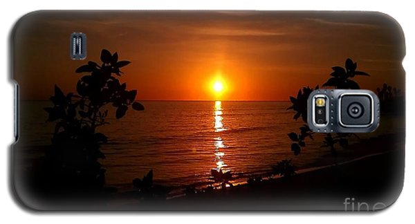 Galaxy S5 Case featuring the photograph Peace At The Beach by Chris Tarpening