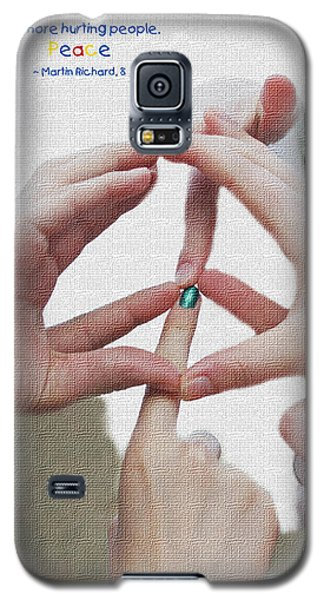 Peace Galaxy S5 Case by Barbara West