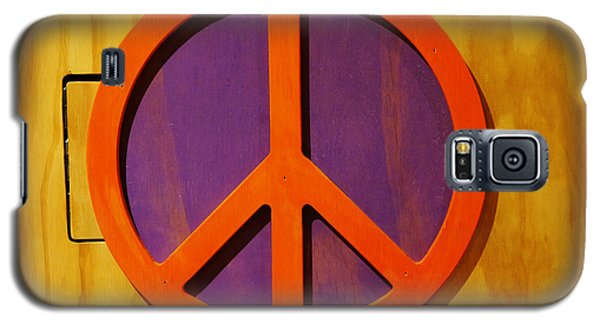 Peace Decal Galaxy S5 Case