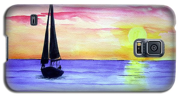 Galaxy S5 Case featuring the painting Peace by Ellen Canfield