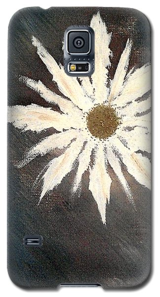 Galaxy S5 Case featuring the painting Peace Flower by Jacqueline McReynolds