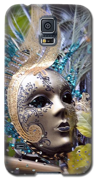 Galaxy S5 Case featuring the photograph Peace In The Mask by Amanda Eberly-Kudamik