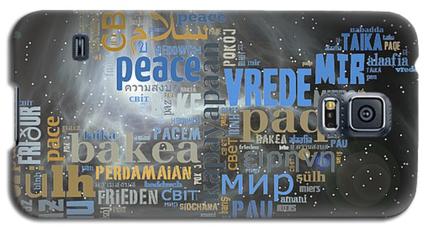Peace Is A Universal Language Galaxy S5 Case