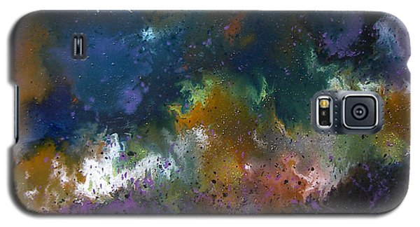 Galaxy S5 Case featuring the painting Peace by Min Zou