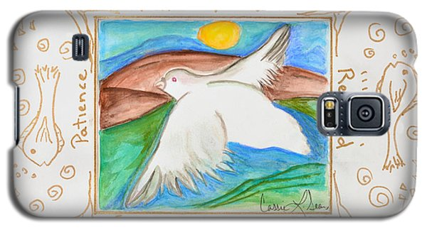 Galaxy S5 Case featuring the painting Peace Of Heaven by Cassie Sears
