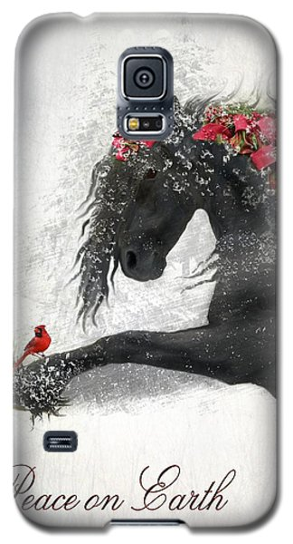 Card Galaxy S5 Case - Peace On Earth by Fran J Scott