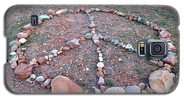 Peace Sedona Galaxy S5 Case by Marlene Rose Besso