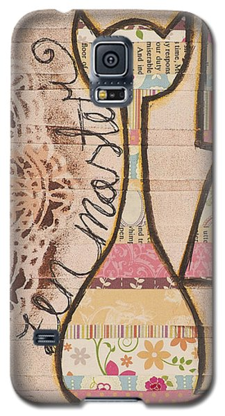 Peace - Zen Master Inspirational Art Galaxy S5 Case by Stanka Vukelic