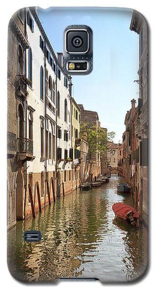 Galaxy S5 Case featuring the photograph Peaceful Canal by Kim Andelkovic