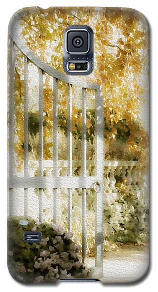 Peaceful English Garden Galaxy S5 Case