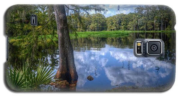 Galaxy S5 Case featuring the photograph Peaceful Florida by Timothy Lowry