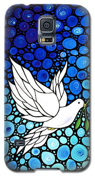 Peaceful Journey - White Dove Peace Art Galaxy S5 Case