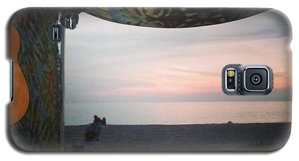 Galaxy S5 Case featuring the photograph Peaceful Makua Evening by Erika Swartzkopf