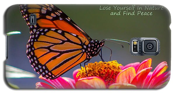 Peaceful Nature Galaxy S5 Case by Marion Johnson