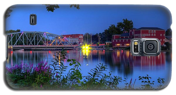 Galaxy S5 Case featuring the photograph Peaceful River by Dave Files