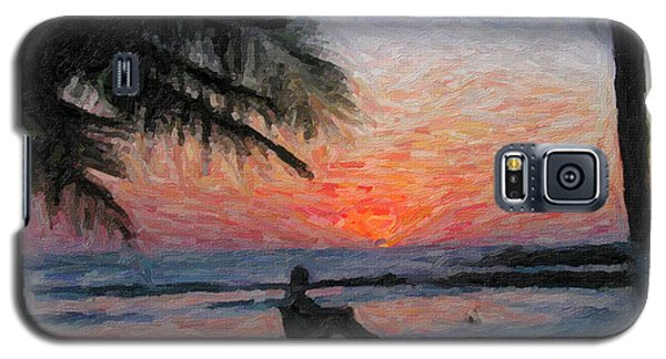 Peaceful Sunset Galaxy S5 Case