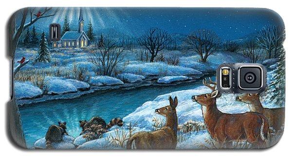 Peaceful Winters Night Galaxy S5 Case