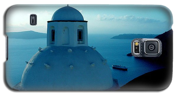 Peacefull Santorini Greek Island  Galaxy S5 Case