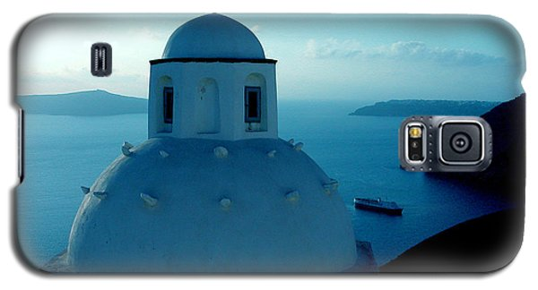 Galaxy S5 Case featuring the photograph Peacefull Santorini Greek Island  by Colette V Hera  Guggenheim