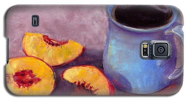 Peach Break Galaxy S5 Case by Julie Maas