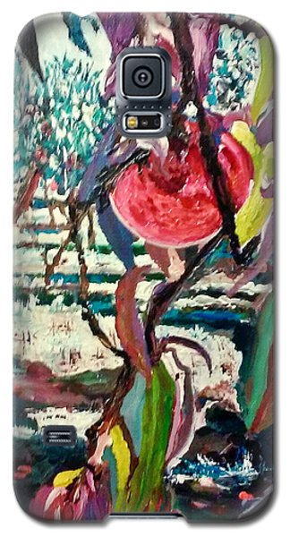 Peach Orchard Galaxy S5 Case