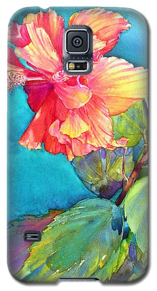 Peach Paradise Galaxy S5 Case