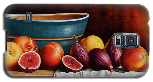Peaches And Figs Galaxy S5 Case by Horacio Cardozo