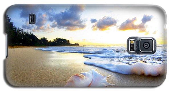 Beach Galaxy S5 Case - Peaches N' Cream by Sean Davey