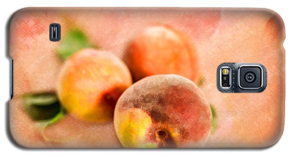 Galaxy S5 Case featuring the photograph Peachy by Mary Timman