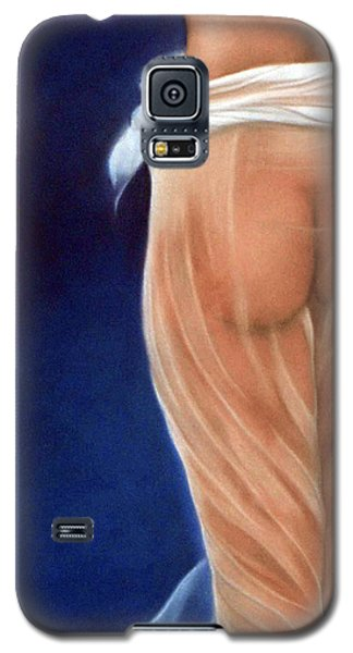 Peachy Galaxy S5 Case by Neil Kinsey Fagan