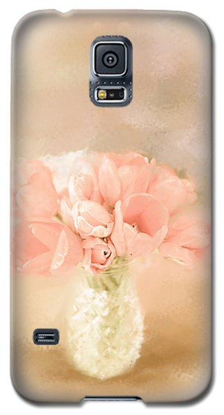 Peachy Pink Galaxy S5 Case