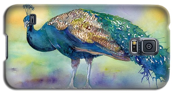 Peacock Galaxy S5 Case - Peacock by Amy Kirkpatrick