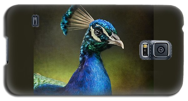 Peacock Galaxy S5 Case by Ann Lauwers