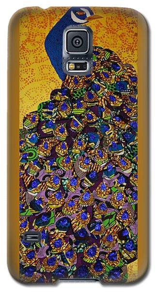 Peacock Blue Galaxy S5 Case