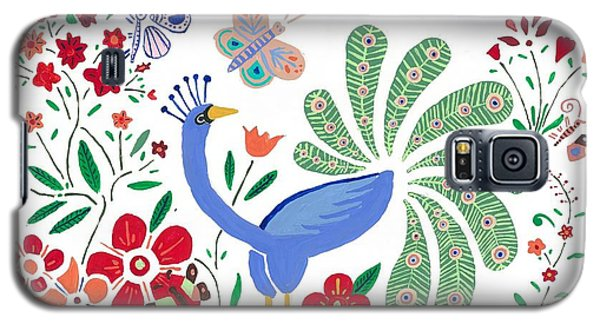 Peacock Bob Galaxy S5 Case by Artists With Autism Inc