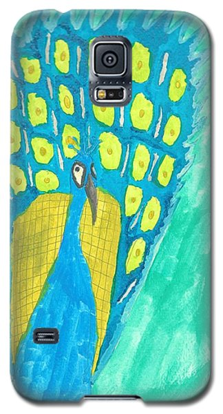Peacock Galaxy S5 Case by Artists With Autism Inc