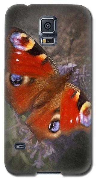 Peacock Butterfly Galaxy S5 Case by Ian Merton