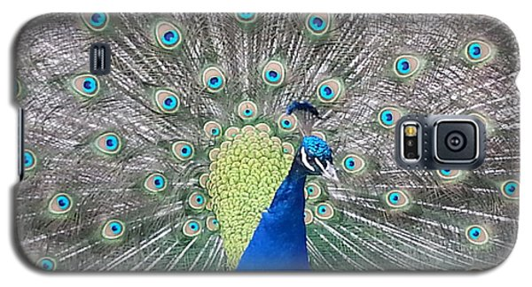 Galaxy S5 Case featuring the photograph Peacock by Caryl J Bohn
