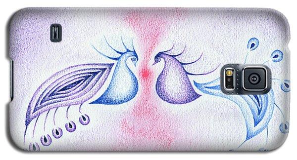 Peacock Dance Galaxy S5 Case