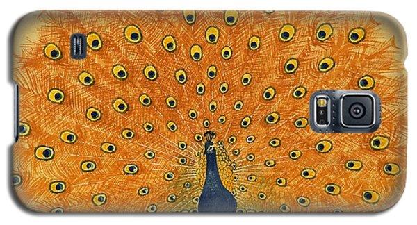 Peacock Galaxy S5 Case by English School